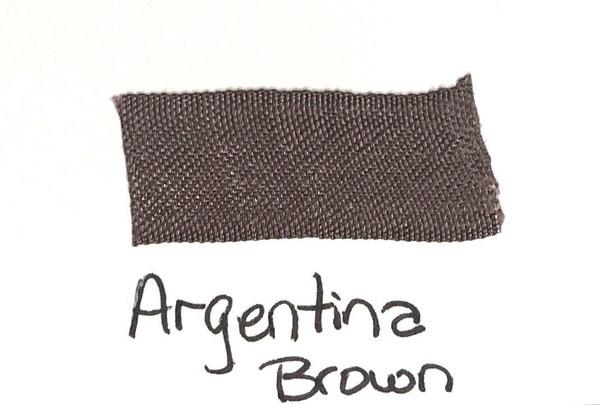 Pam Bray Designs Pams Picks - 5/8 Seam Binding Ribbon - Argentina Brown