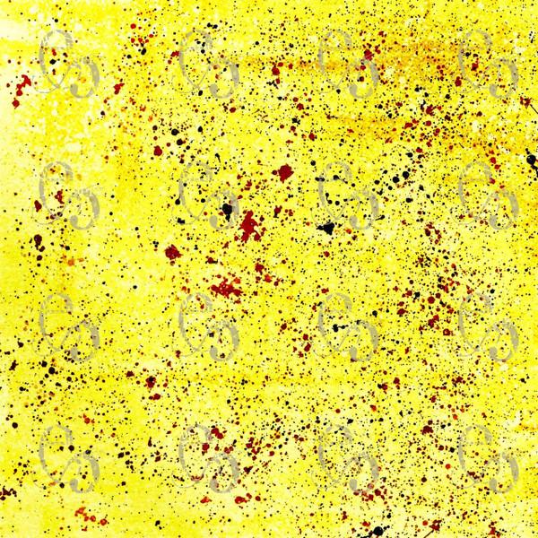 Pam Bray Designs Splatter Yellow Digital Downloads by Pam Bray