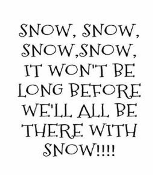 Pam Bray Designs Snow Snow Snow - Pam Bray