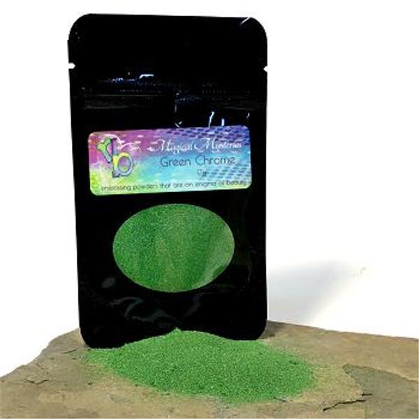 Rita Barakat Designs Magical Mysteries - Green Chrome