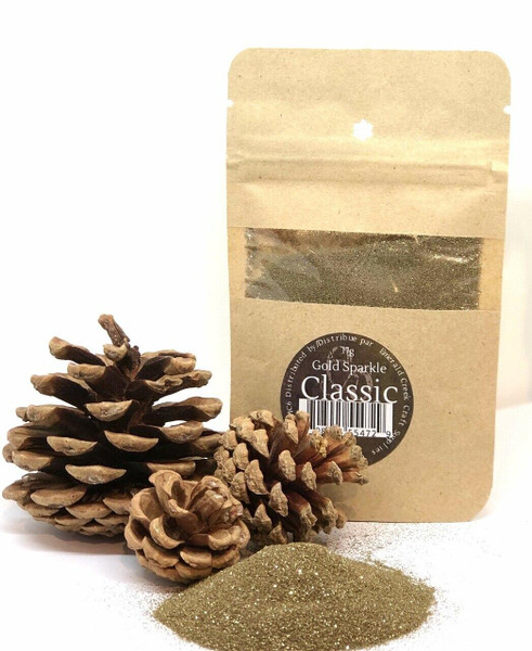 Gold Sparkle Embossing Powder