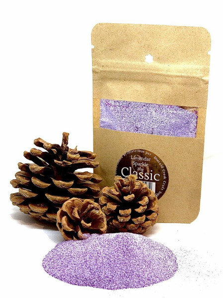 Lavender Sparkle Embossing Powder