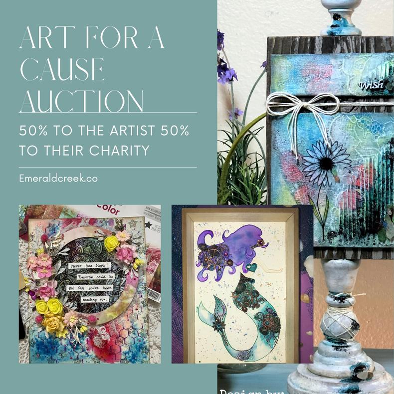 Silent Auction - Lori Warren Art designed for Emerald Creek