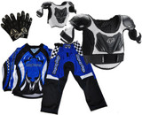 Peewee Motocross Pants, Jersey, Gloves and FOX Armour Set