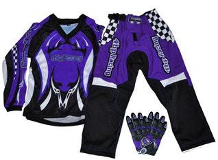 Junior Pants, Jersey, Gloves Combo