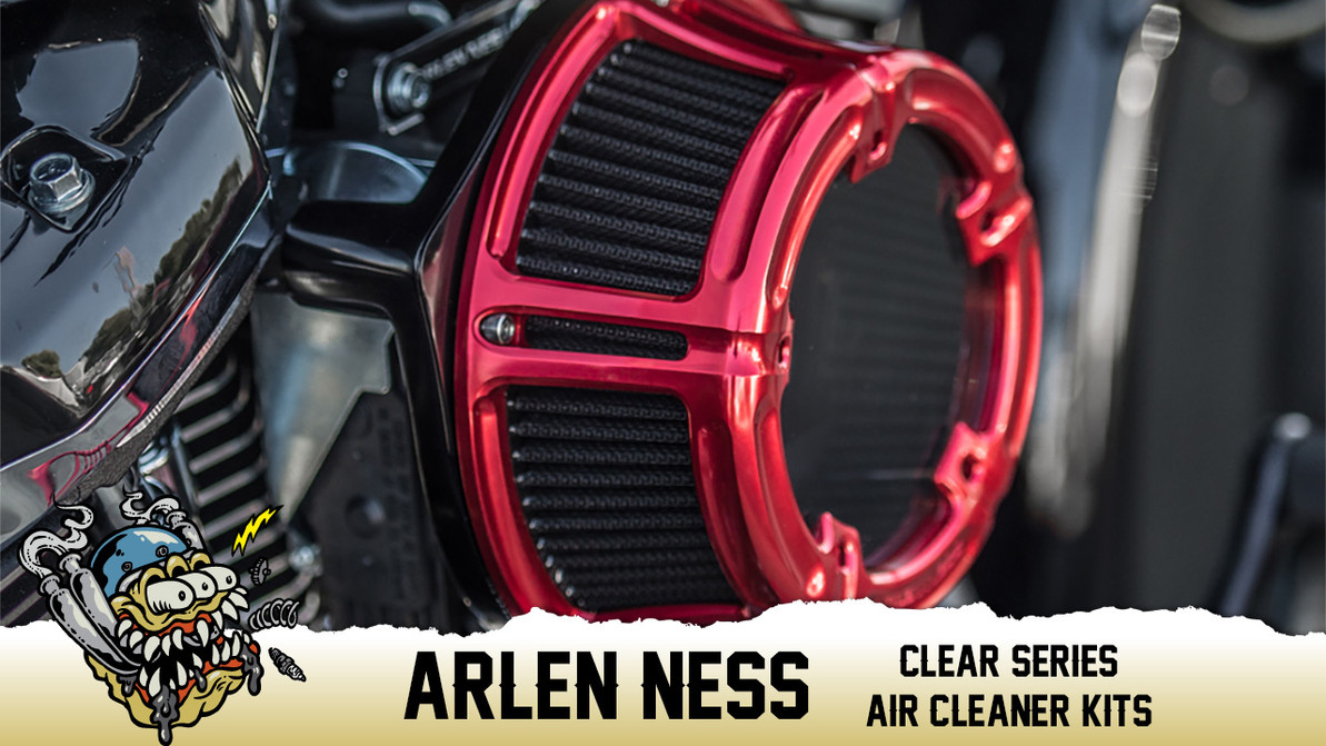 Arlen Ness Method Clear Series Air Cleaner Kits