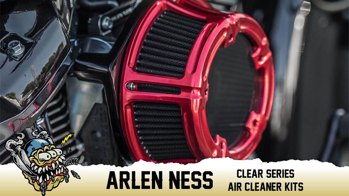 Arlen Ness Method Clear Series Air Cleaner Kits