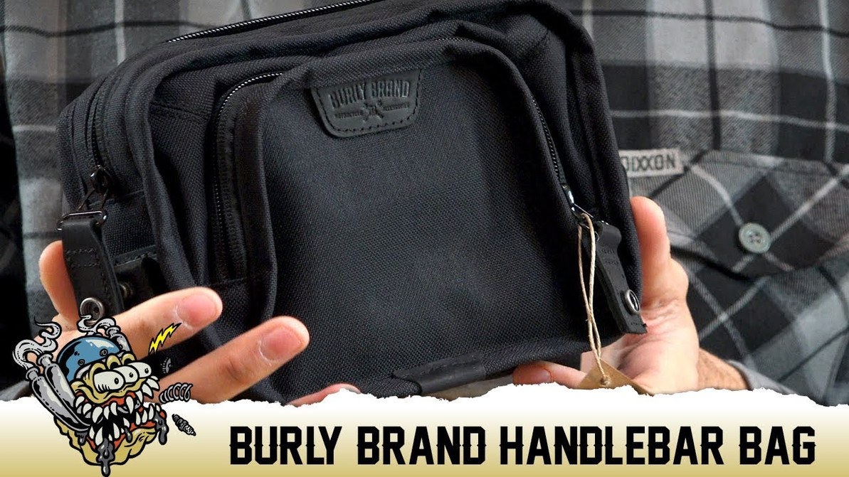 Burly Brand Harley Handlebar Bag