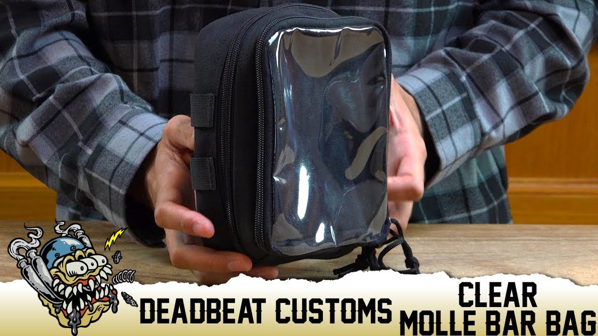 Deadbeat Customs Clear Molle Bar Bag