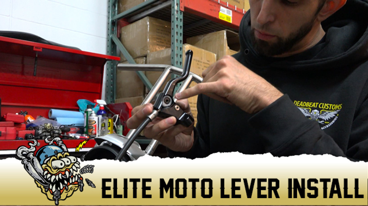 Elite Mototech Harley Clutch Lever Install