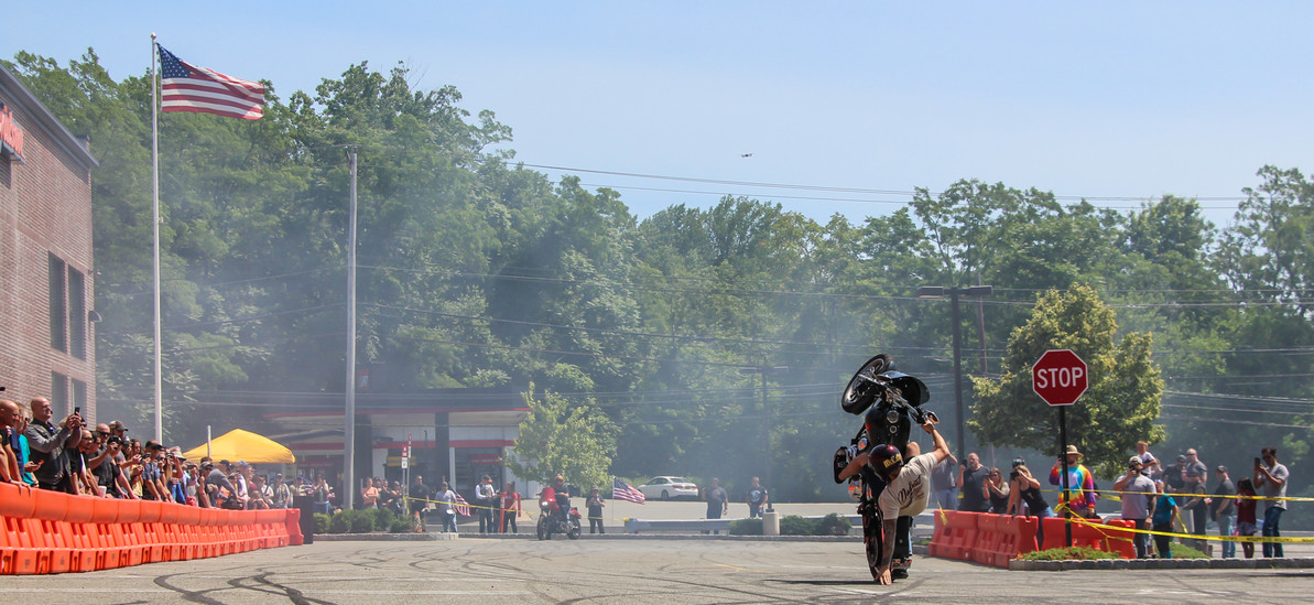 Deadbeat Stunt Division at Garden State Harley: Video & Photos