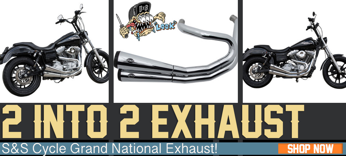 S&S Grand National Exhaust Install