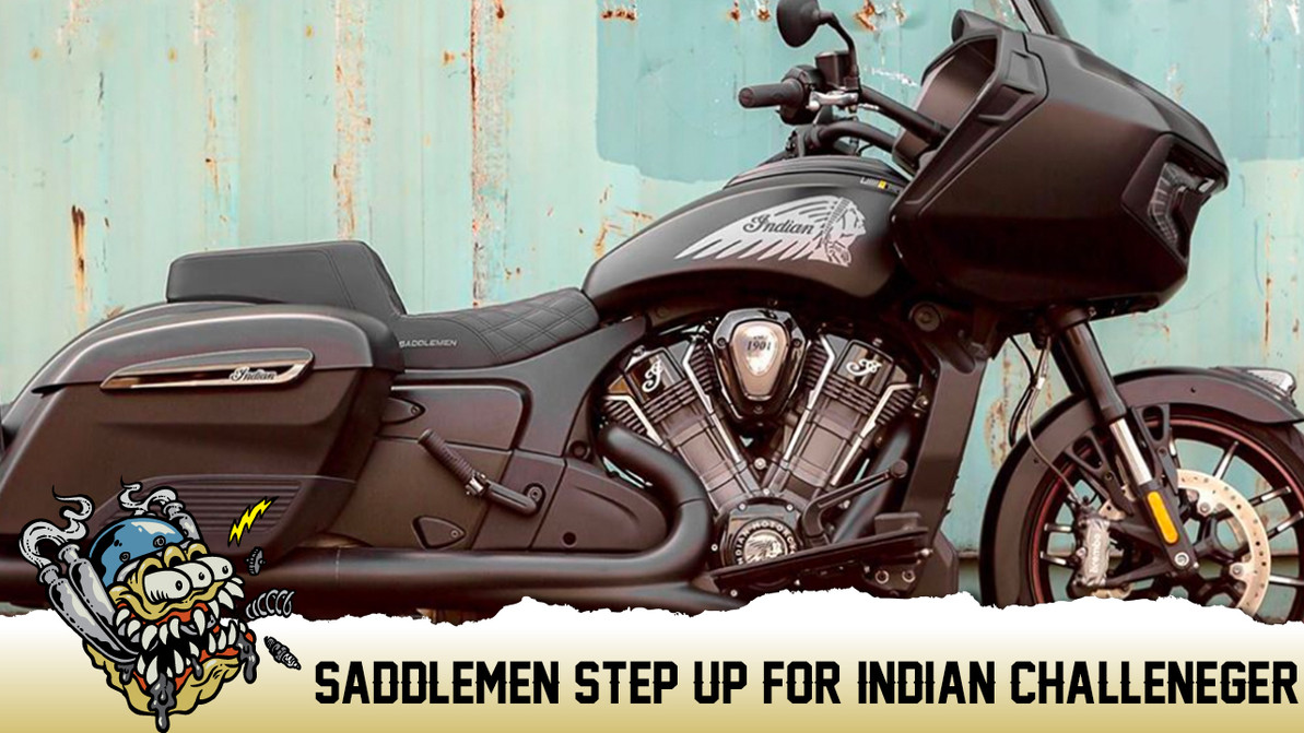 Saddlemen Seats for Indian Challenger Models