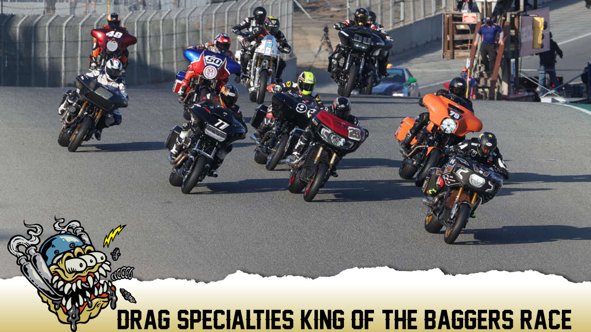 First Annual Drag Specialties' King of the Baggers Race