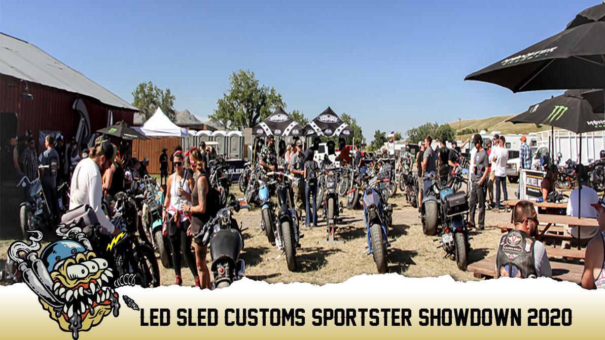 Led Sled Customs Sportster Showdown 2020