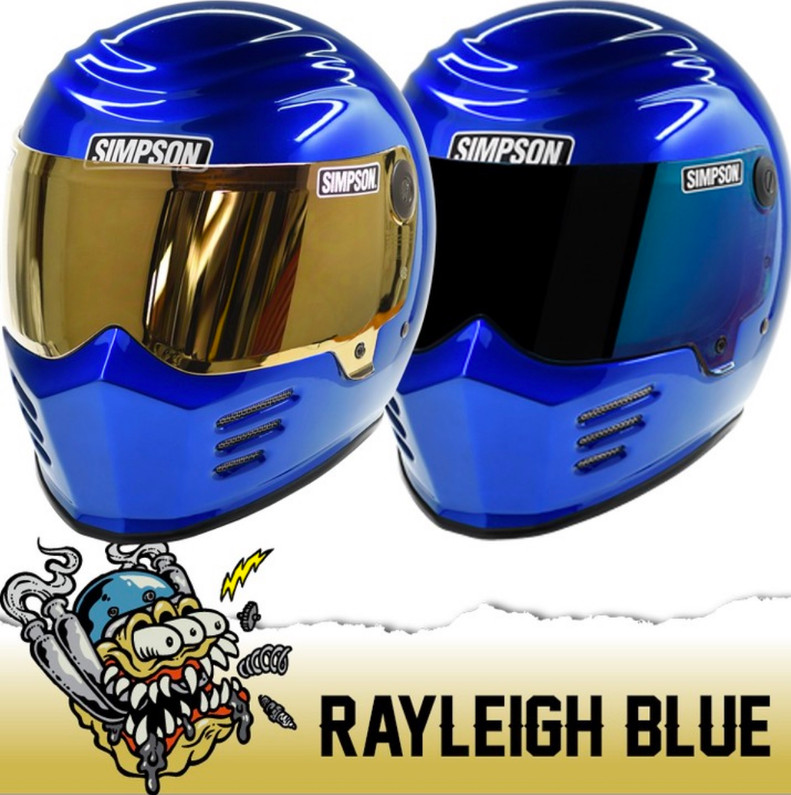 New Simpson Rayleigh Blue Bandit Colorway
