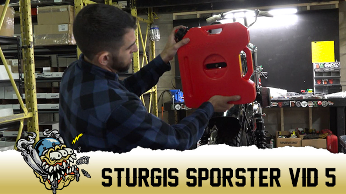 Sturgis Sportster Vid. 5 Build Update