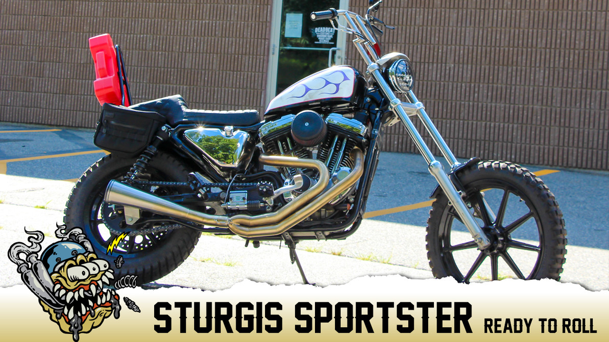Sturgis Sportster, Ready To Roll!