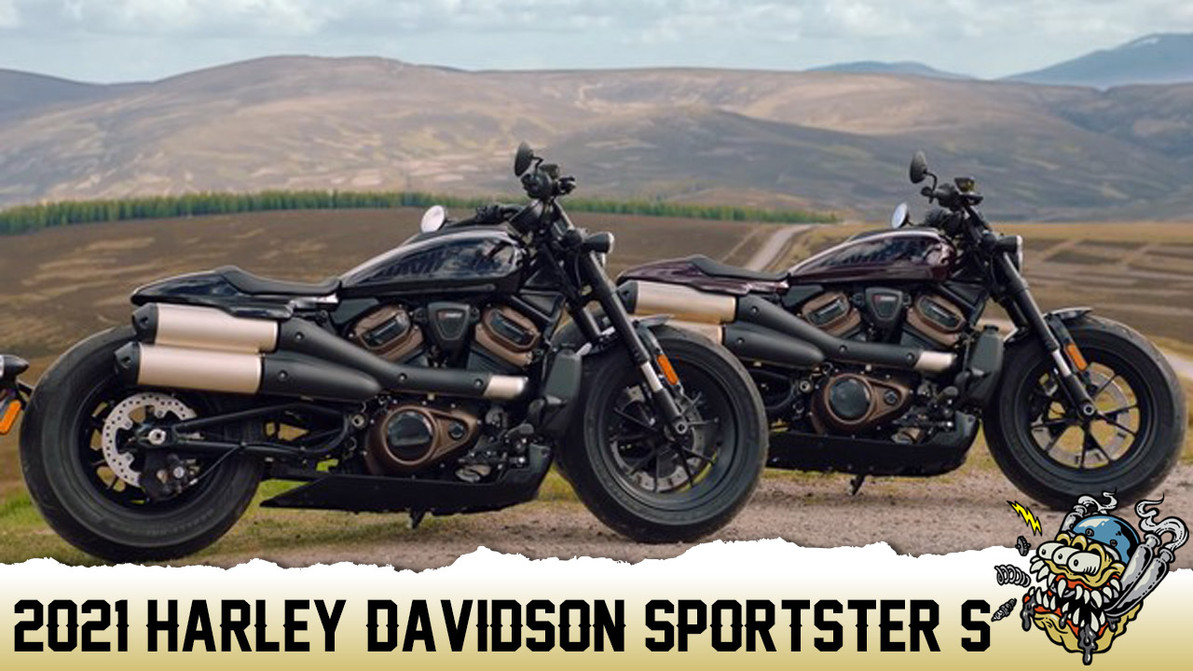 Introducing the All-New 2021 Harley-Davidson Sportster® S Model!
