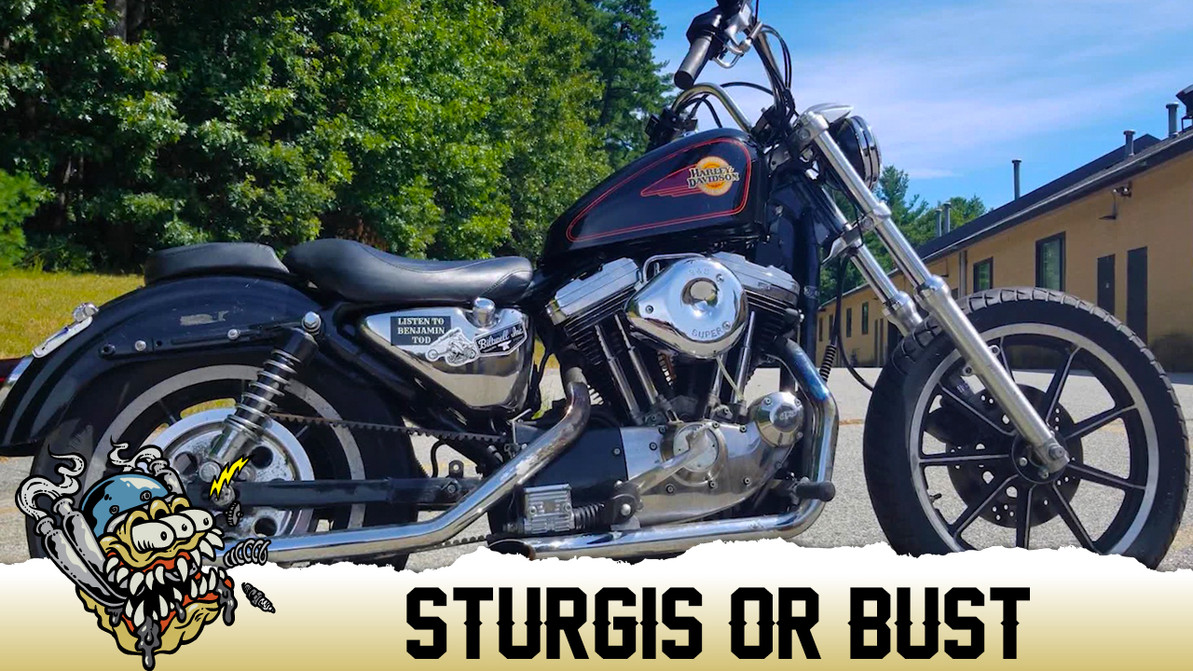Sturgis or Bust, Deadbear Customs builds a Sportster