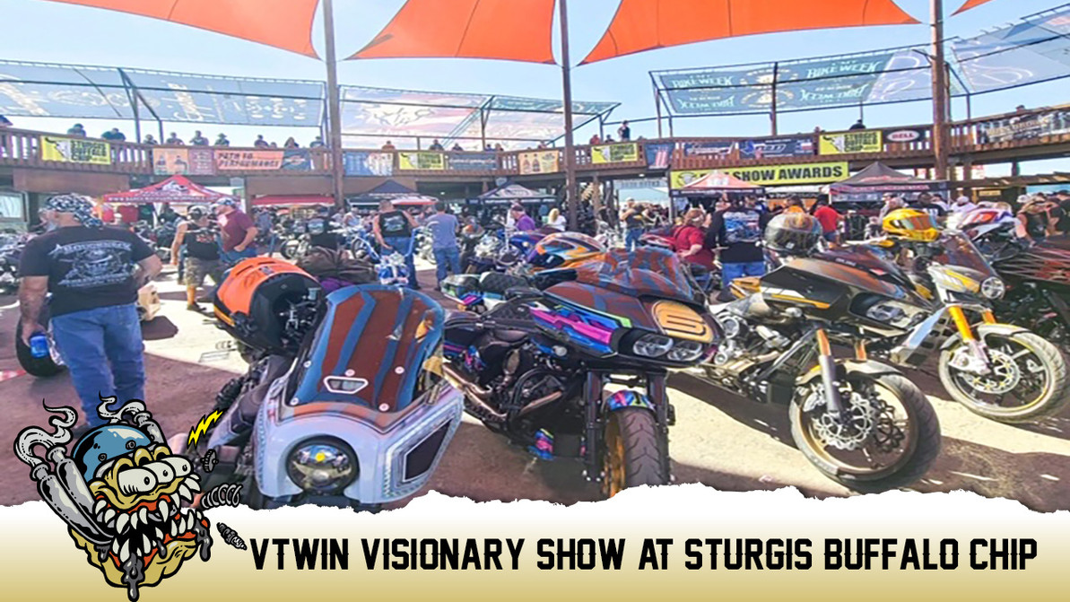 Vtwin Visionary Show at Sturgis Buffalo Chip