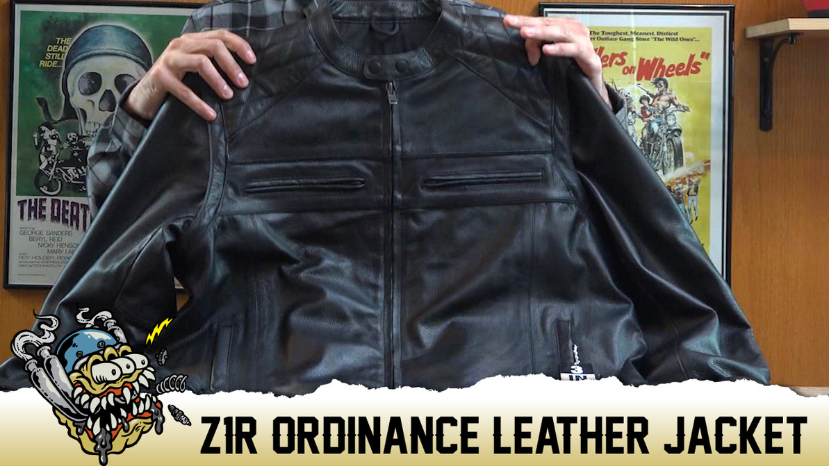 Z1R Ordinance 3 In 1 Leather Jacket