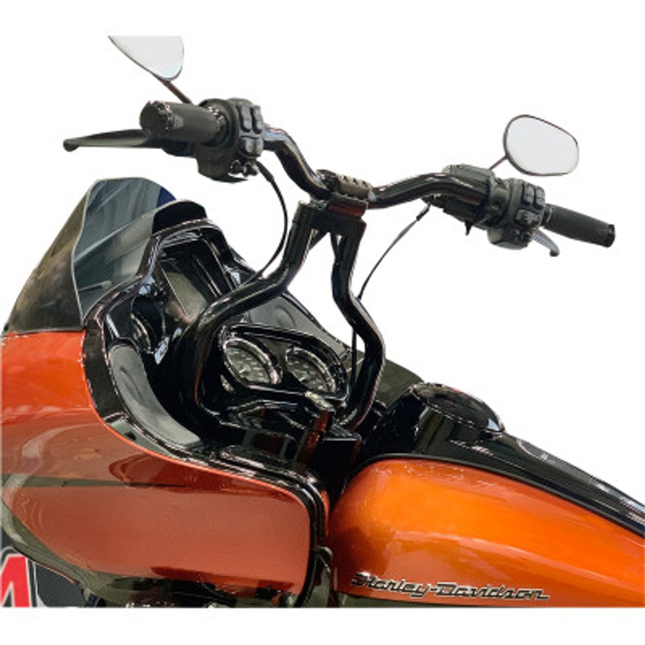 La Choppers Kage Fighter Road Glide Handlebars Black
