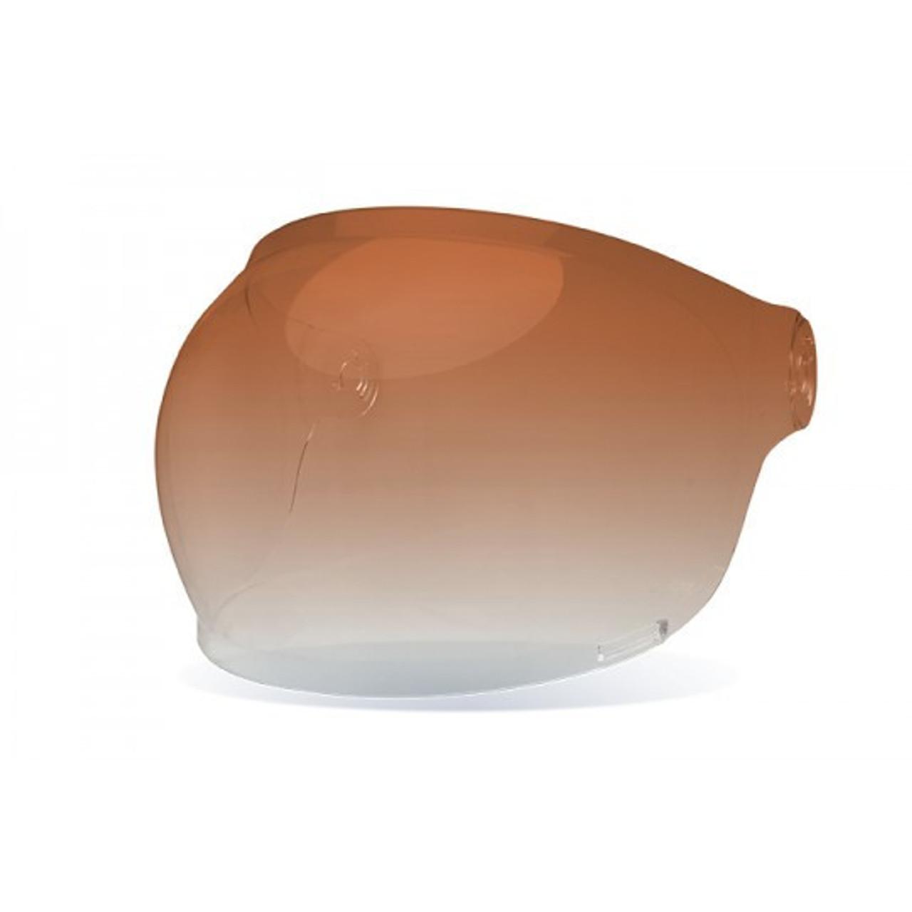Brown Tab Bell Bullitt Bubble Shield Dark Smoke