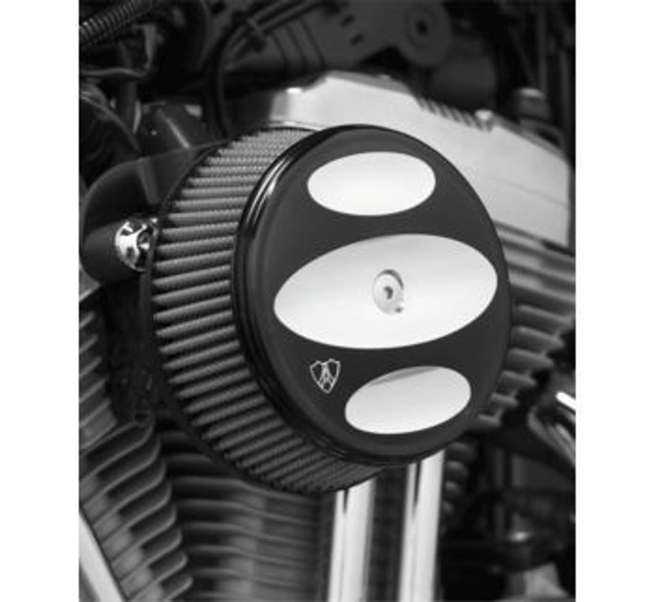 Arlen Ness Black Stage 1 Big Sucker Billet Air Cleaner Cover Harley Davidson
