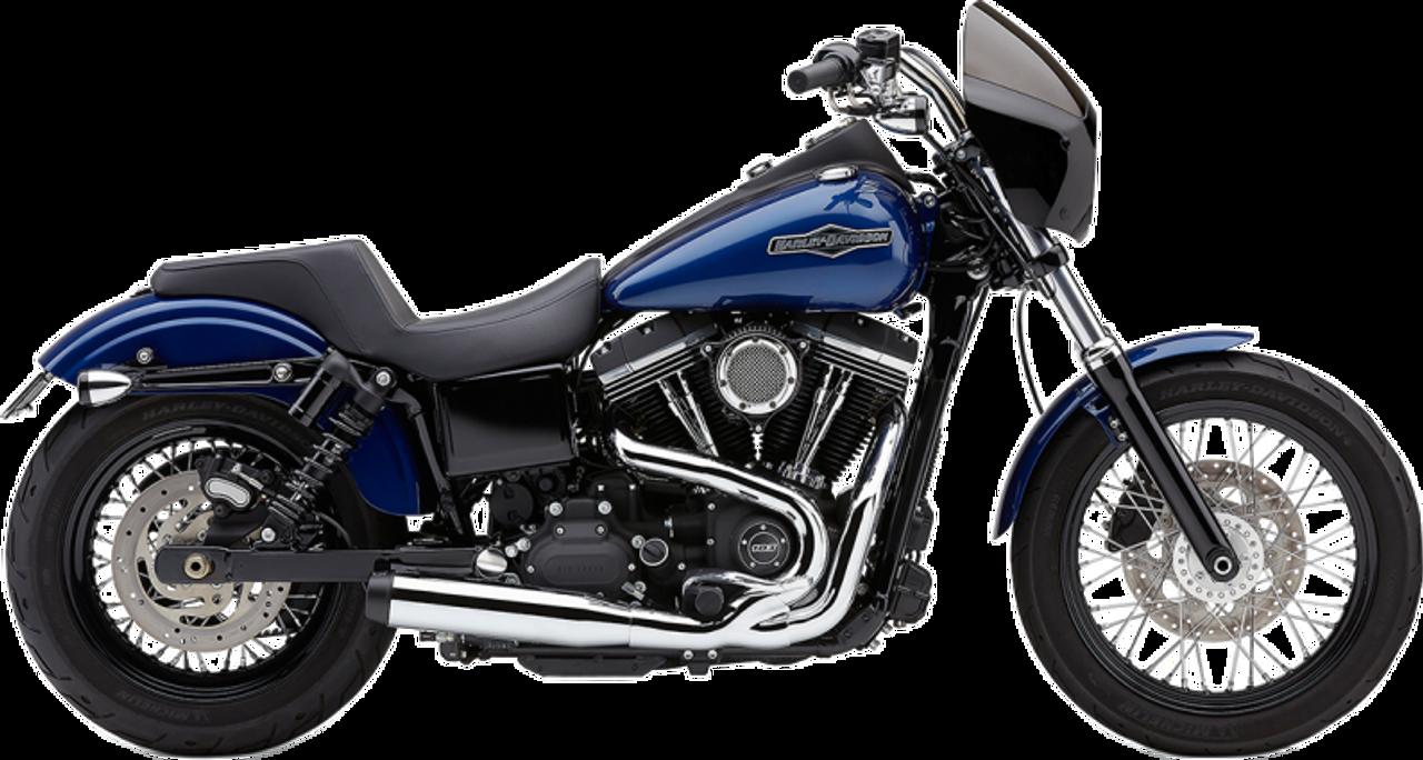 Cobra - El Diablo 2-into-1 Exhaust - fits Harley Dyna Models '06 - '11