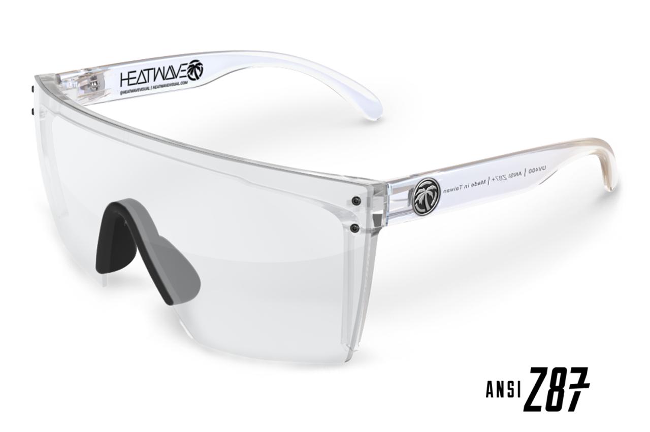 03443f61d0d75 HeatWave Visual Lazer Face Clear Safety Glasses