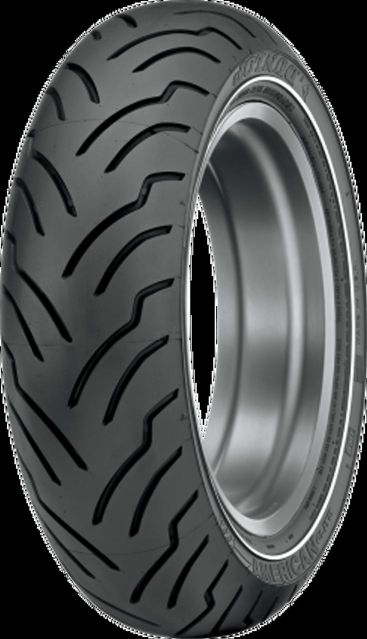 Narrow White Stripe // MT90B-16 Dunlop Harley Davidson D402 Whitewall Front Tire