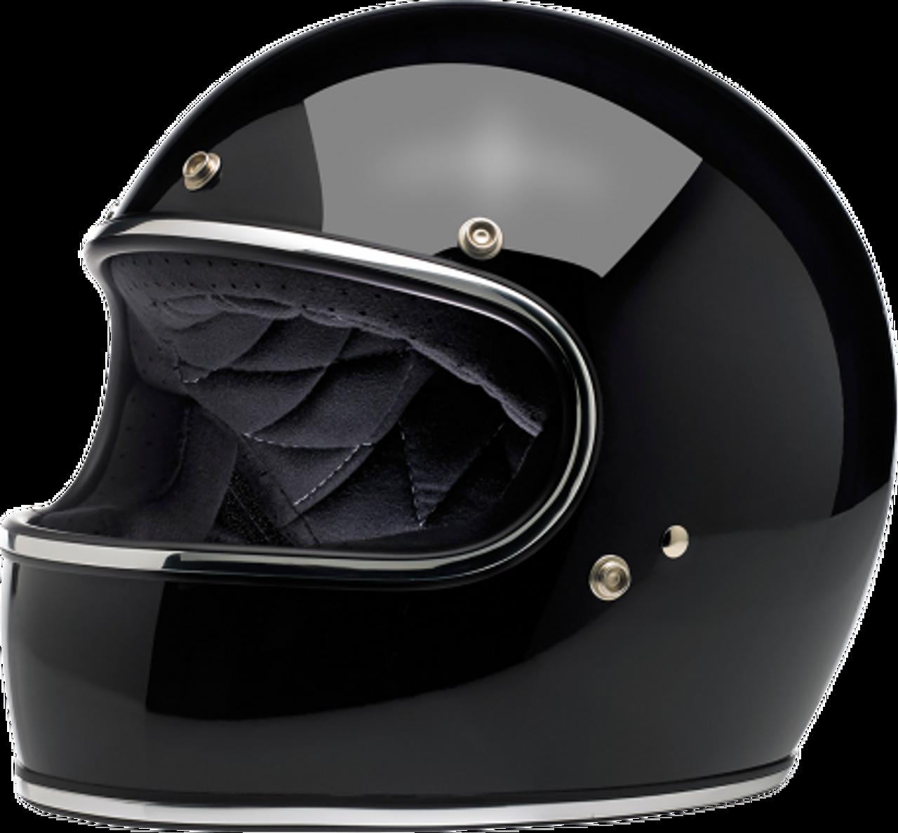 Choose Size Biltwell Inc Gringo S DOT//ECE Retro Full-Face Helmet Flat Black