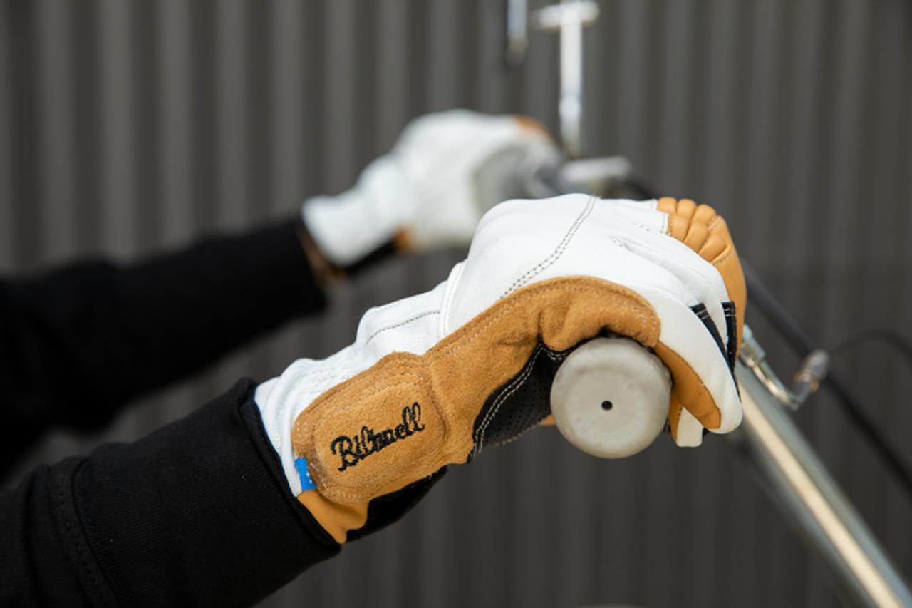 Biltwell Belden Gloves All sizes Cement