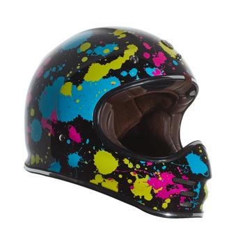 Torc Helmets T-3 Moto Classic Helmet - Pollock
