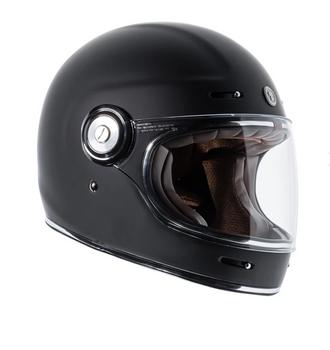 Torc Helmets T-1 Retro Helmet - Matte Black