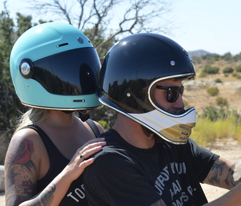 Torc Helmets T-1 Retro Helmet - Tiffany
