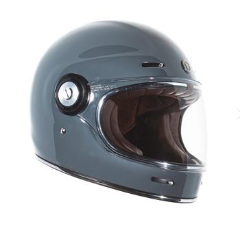 Torc Helmets T-1 Retro Helmet - Nardo Grey