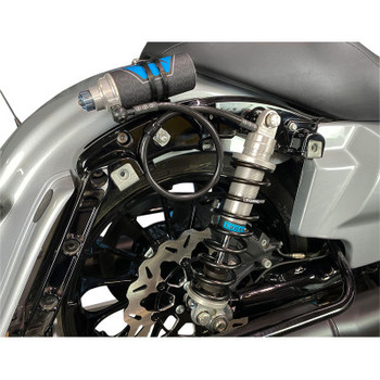 Legends Revo-Arc Piggyback Coil Suspension fits '14-'20 Touring Models - Clear