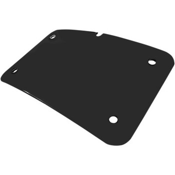 Cycle Visions Curved License Plate Mount - Mount Only (No Frame)