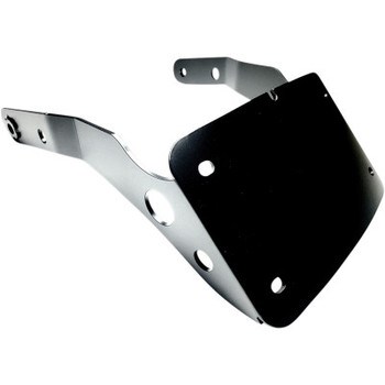 Cycle Visions Curved License Plate Mount - fits '09-'20 XL883N, '10-'20 XL1200X, '12-'16 XL1200V, '10-'12 XL1200N