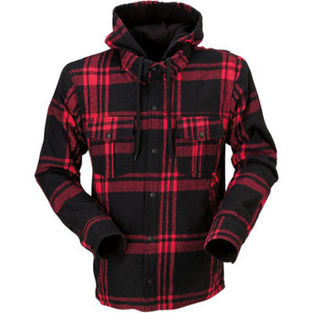 Z1R The Timber Black/ Red Flannel Shirt