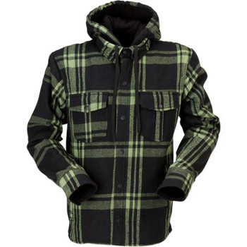 Z1R The Timber Black/ Olive Flannel Shirt