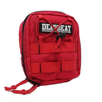 Deadbeat Customs - Molle Bar Bag - Red