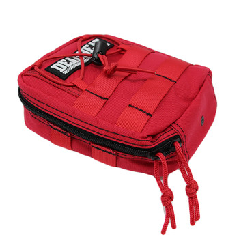 Deadbeat Customs - Molle Bar Bag - Red