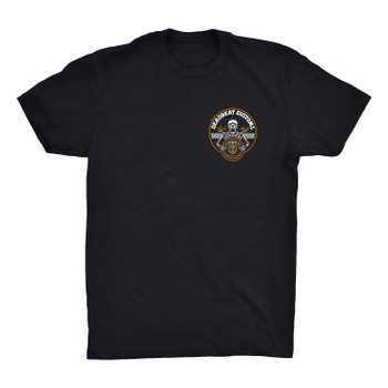 Deadbeat Customs Skeleton Wheel T-Shirt