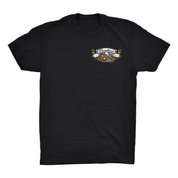 Deadbeat Customs Cheers to Wheels T-Shirt
