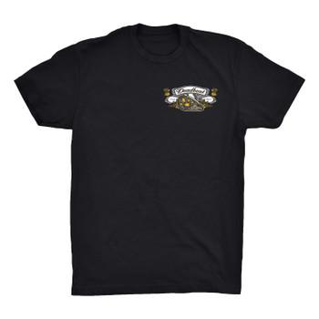 Deadbeat Customs Cheers to Wheels T-Shirt