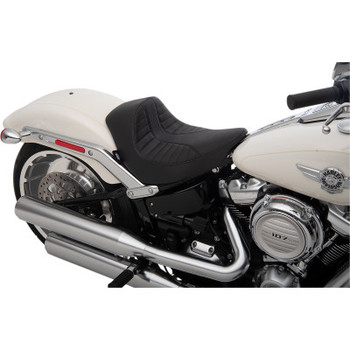 Drag Specialties EZ-On Mount Solo Seat fits '18-'20 Softail Models