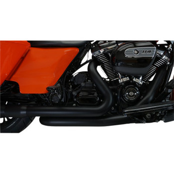 Khrome Werks - 2-Into-2 Crossover Headers W/ Heat Shields fits '17-'20 Touring Models